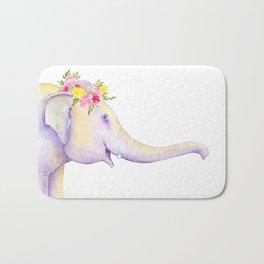 Asian Elephant of Thailand Bath Mat