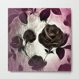 Rose among thorns Metal Print