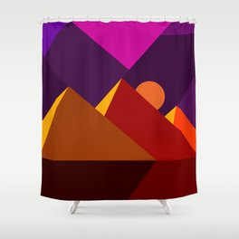 Road to Giza Shower Curtain