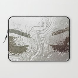Silver and lashed glam Laptop Sleeve