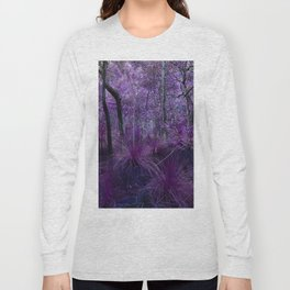 Conway National Park in Purple Long Sleeve T-shirt
