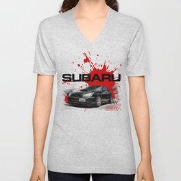 Cars: Subaru WRX STI Unisex V-Neck