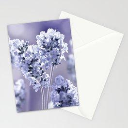 lavender blue 02 Stationery Cards