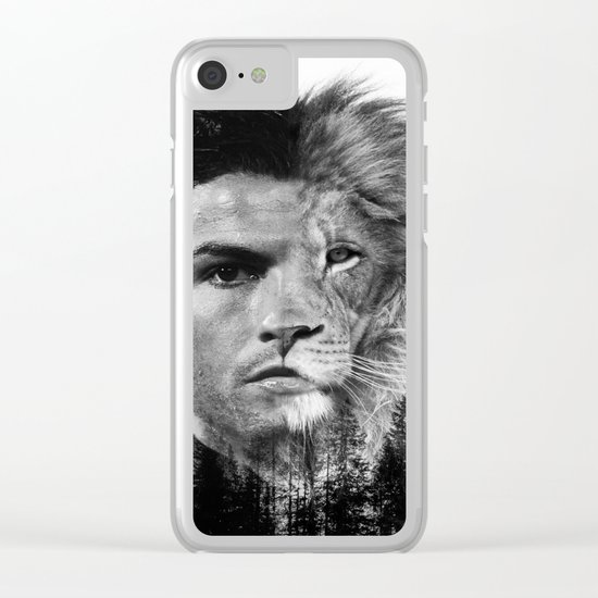 Cristiano Ronaldo Beast Mode Clear iPhone Case