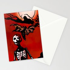 Wandering Skull Stationery Cards