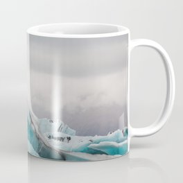 Iceberg in tha glacial lagoon - landscape photography Coffee Mug