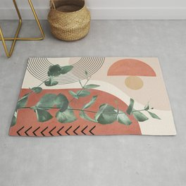 Nature Geometry IV Rug