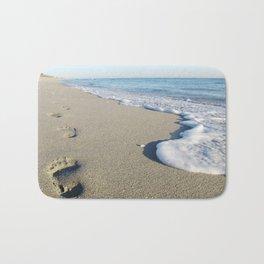 Footprints.  Bath Mat