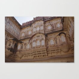 Meherangarh fort Canvas Print