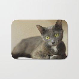 Comfortable Kitty Bath Mat