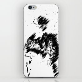 Abstract Soldier (Black) iPhone Skin