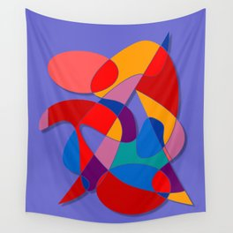 Abstract #66 Wall Tapestry