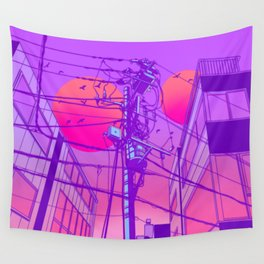 Anime Wires Wall Tapestry