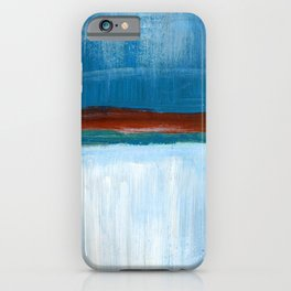 March Abstract Six iPhone Case