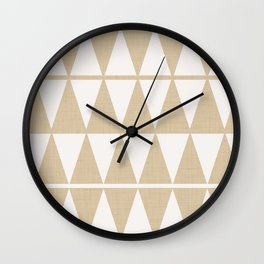 Minimal Geometric Wall Clock