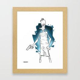 Reservoir Duck... Framed Art Print