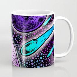 Meteor Shower (Blues) Coffee Mug