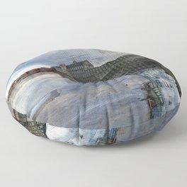Newmarket Mills Abstraction Floor Pillow