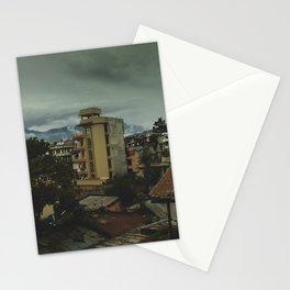 Kathmandu City Roof Top 001 Stationery Cards