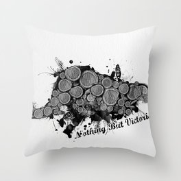 Nothing But Victorious Throw Pillow