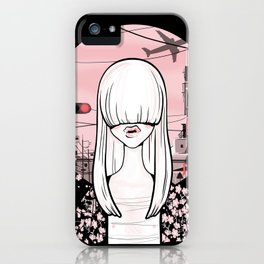 invisible girl iPhone Case