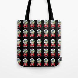 Gumball Machine 2 (Many On Black) Tote Bag