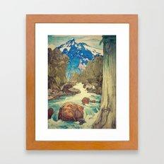 The Walk to Hokodoyama Framed Art Print
