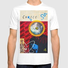 Choice SMALL White Mens Fitted Tee