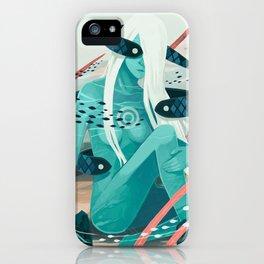Heavy water iPhone Case