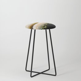 Waterdrops on Forest Fungus Counter Stool