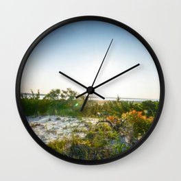Beach - Long Beach Island, New Jersey Wall Clock