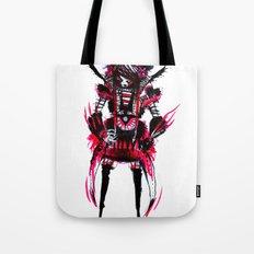 red black 01 Tote Bag