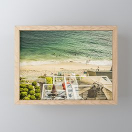 Fun Summer 5525 Laguna Beach Framed Mini Art Print