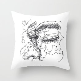 Starry Eyes Throw Pillow