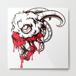 Evil - Demon Metal Print