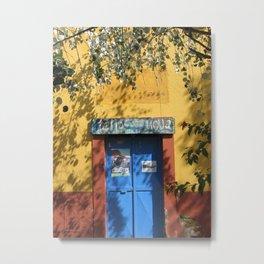 Door No. 12 in Guanajuato, Mexico (2005) Metal Print