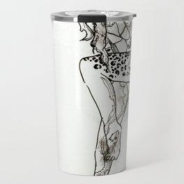 Tattooed Lady Travel Mug