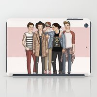 one direction iPad Cases featuring One Direction by vulcains