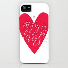 Virginia is for Lovers Slim Case iPhone SE