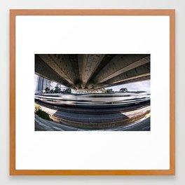 Movement Underneath Framed Art Print