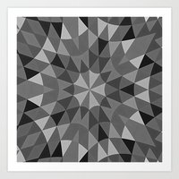 gray pattern Art Prints featuring Gray Pattern by 2sweet4words Designs