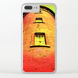 Lighthouse romance 16 Clear iPhone Case