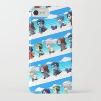 dmmd iPhone & iPod Cases featuring DMMD chibi by mao00mao & darkson