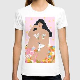 Flower Bra T-shirt