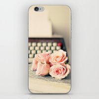 writing iPhone & iPod Skins featuring Writing Inspiration by Caroline Mint
