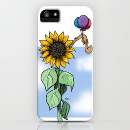 Floating toward a dream iPhone Case