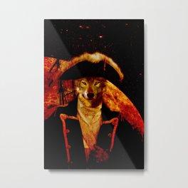 Wolf Capitan Metal Print