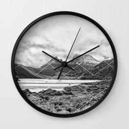 Mountain Geo Wall Clock