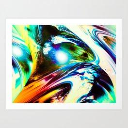 """""""Speed Unleased"""" Art Print"""