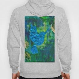 Humming Bird - Blue and Green Hoody